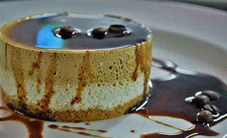 Cream and Coffee Cheesecake